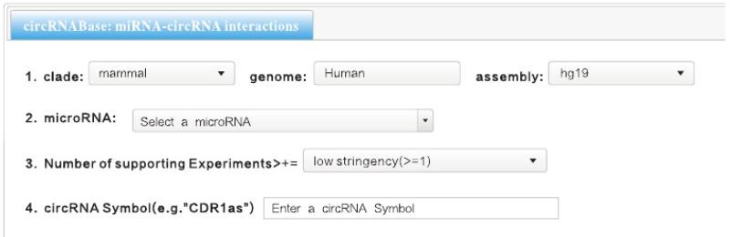 circRNABase